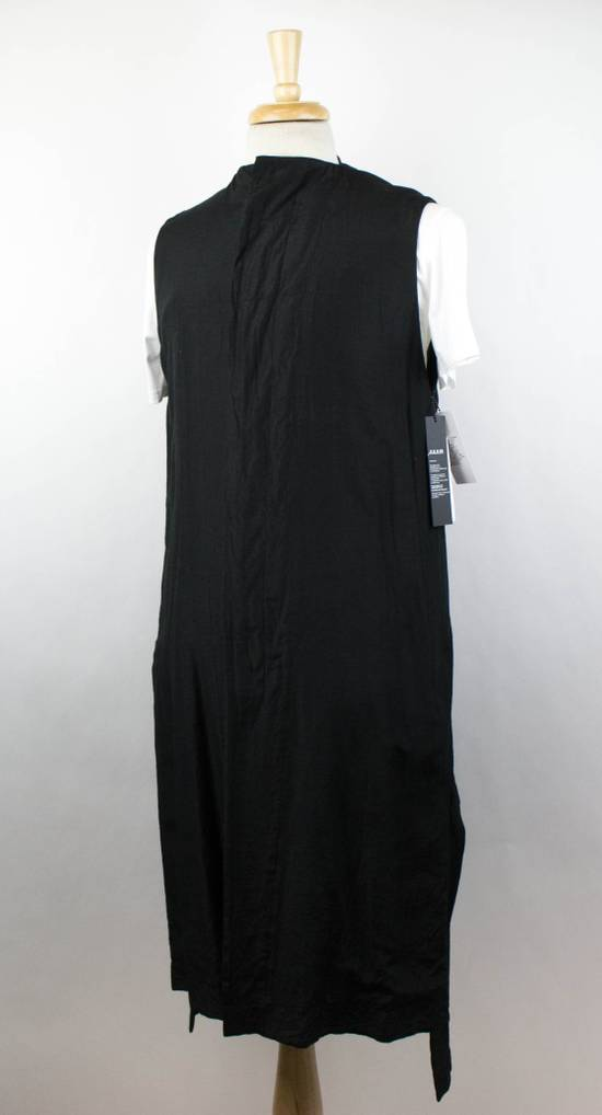 Julius 7 Men's Black Silk Blend Long Vest Size 3/M Size US M / EU 48-50 / 2 - 1