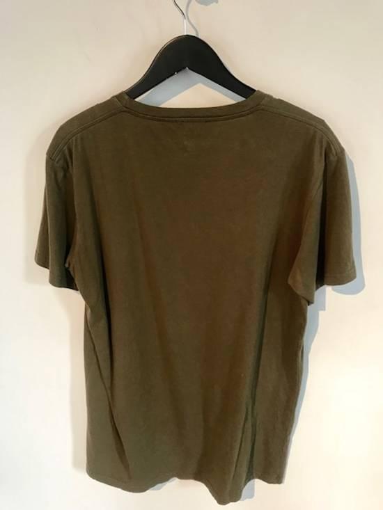 Balmain Balmain Khaki American Eagle Crest T-Shirt Size US L / EU 52-54 / 3 - 1