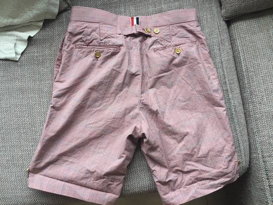 Thom Browne Red Checkbox Shorts Size US 28 / EU 44 - 2