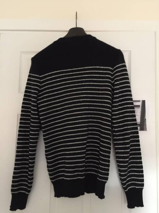 Balmain Balmain Navy Strips Sweaters Size US S / EU 44-46 / 1 - 1