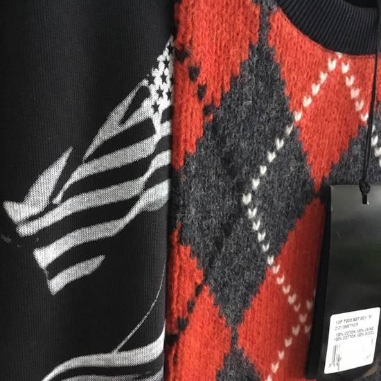 Givenchy GIVENCHY ARGYLE HOUSE OF LA SWEATSHIRT Size US M / EU 48-50 / 2 - 1