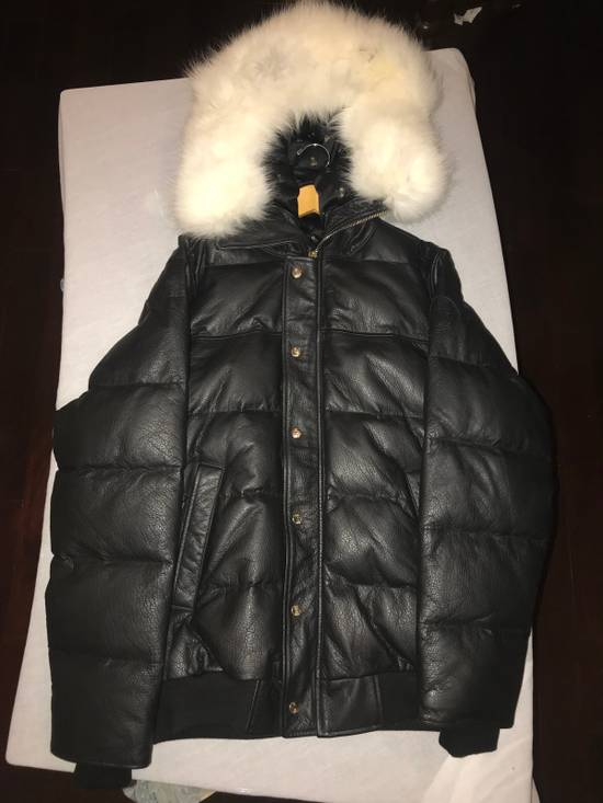 Canada Goose OVO Canada Goose 2011 Leather 24k Gold Fur Bomber Jacket Size US XL / EU 56 / 4 - 8