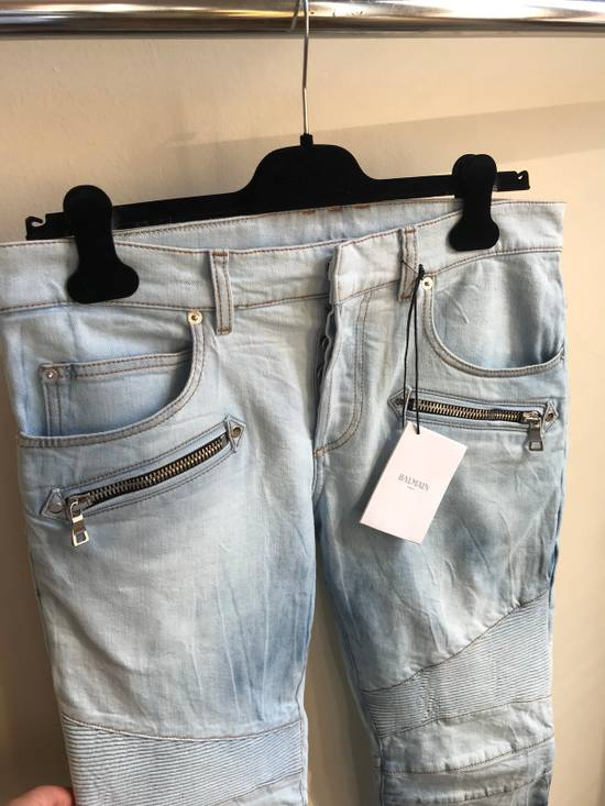 Balmain Biker Jeans SS18 Size US 32 / EU 48 - 1