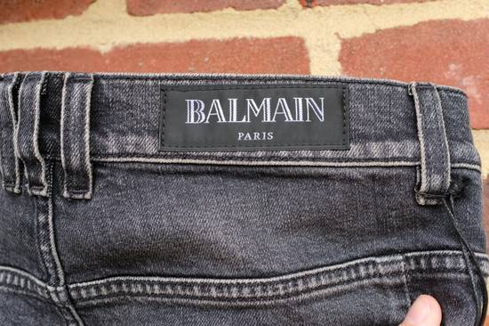 Balmain Black Stonewashed Jeans Size US 30 / EU 46 - 7