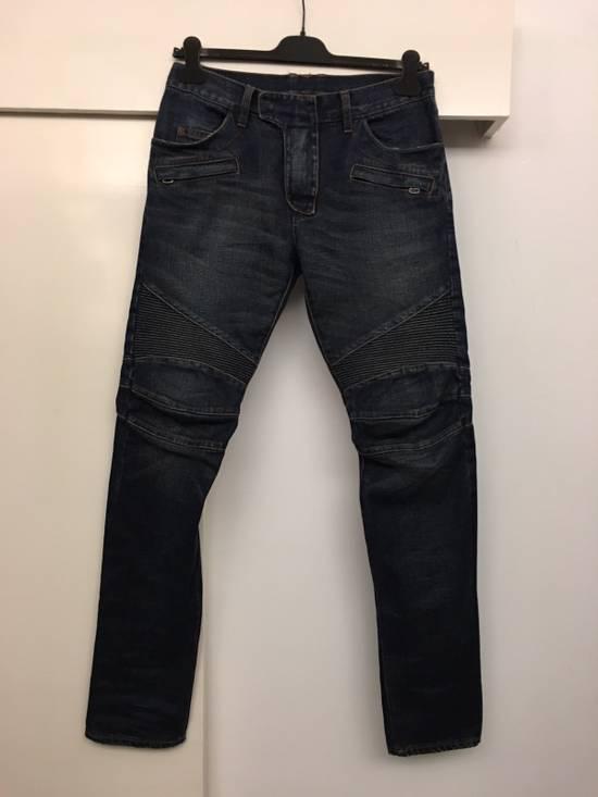 Balmain Biker Jeans Size31 Size US 31 - 2