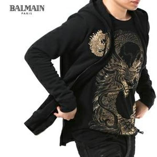 Balmain Black Dragon Hoodie Size US L / EU 52-54 / 3 - 2