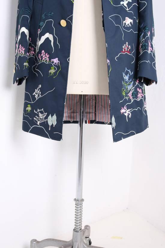 Thom Browne Japanese Garden Navy Coat Size US S / EU 44-46 / 1 - 1