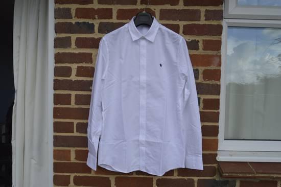 Givenchy White Chest Star Shirt Size US L / EU 52-54 / 3