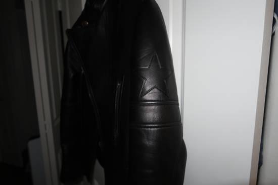 Givenchy Lamb leather moto star print jacket Size US M / EU 48-50 / 2 - 5