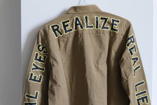 "Givenchy ""Real Eyes Realize Real Lies"" Slogan Shirt Size US S / EU 44-46 / 1 - 5"