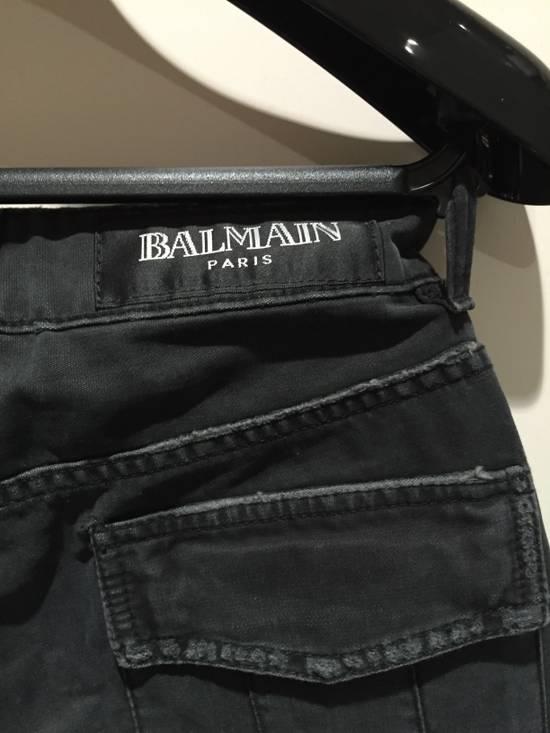 Balmain Military Biker Jeans Size US 30 / EU 46 - 2