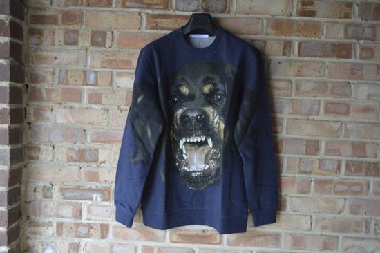 Givenchy Blue Rottweiler Sweater Size US S / EU 44-46 / 1