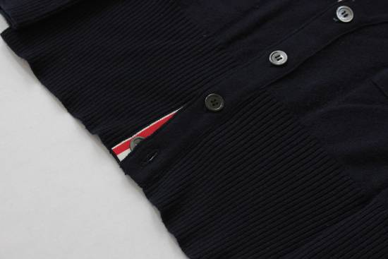 Thom Browne Navy Cashmere Classic 4 Bar Cardigan Size US S / EU 44-46 / 1 - 3