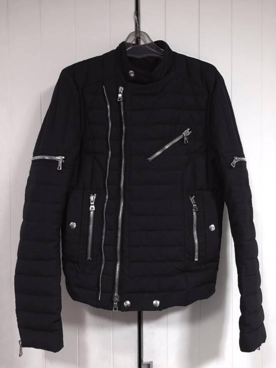 Balmain Quilted Puffer Moto Jacket Size US S / EU 44-46 / 1