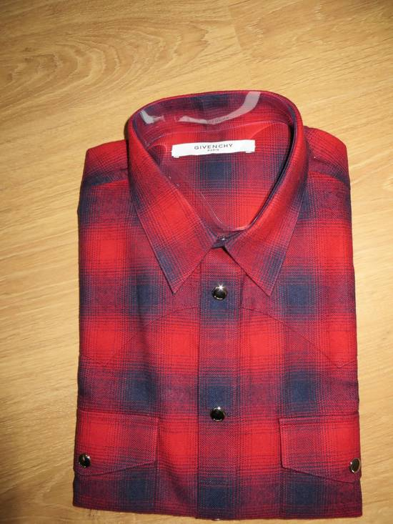 Givenchy Flannel check- shirt Size US M / EU 48-50 / 2 - 4