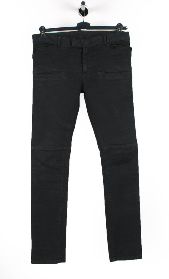 Balmain Original Balmain Paris Skinny Grey Men Biker Jeans in size 30 Size US 30 / EU 46