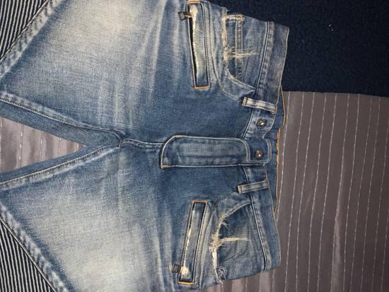 Balmain Balmain Distresses Biker Jeans Size US 31 - 2