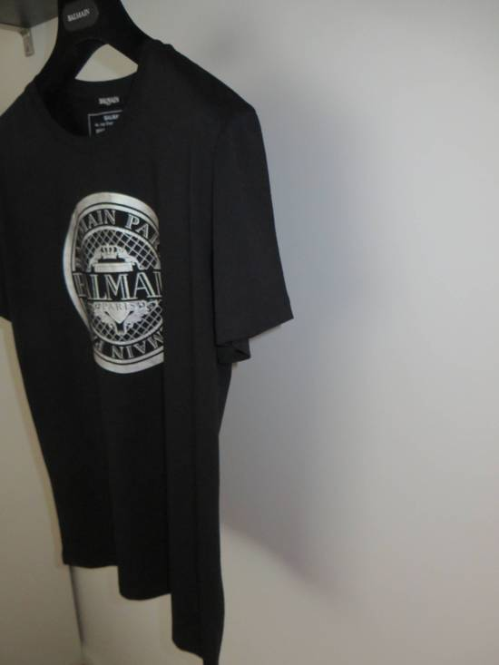 Balmain Silver Medallion print t-shirt Size US L / EU 52-54 / 3 - 2