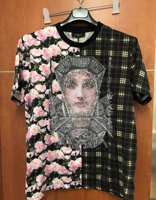 Givenchy Givenchy Floral & Plaid Cuban Fit T-Shirt Size US L / EU 52-54 / 3 - 7