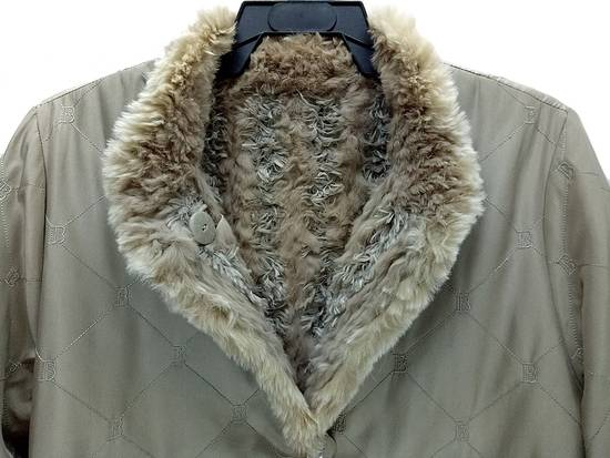 Balmain 🔥FINALDROP♨Reversible Balmain Paris Fur and Silk Jacket RARE Design Size US L / EU 52-54 / 3 - 6
