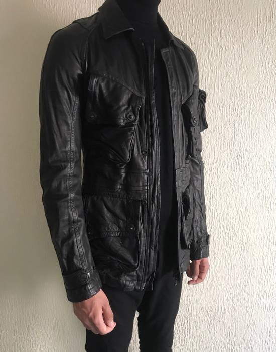 Julius LAST DROP! Julius GASMASK Leather Jacket Size US S / EU 44-46 / 1 - 10