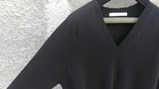 Givenchy Givenchy Destroyed Distressed Wool Slim Fit Rottweiler Knit Sweater Jumper size L (fitted M) Size US M / EU 48-50 / 2 - 7