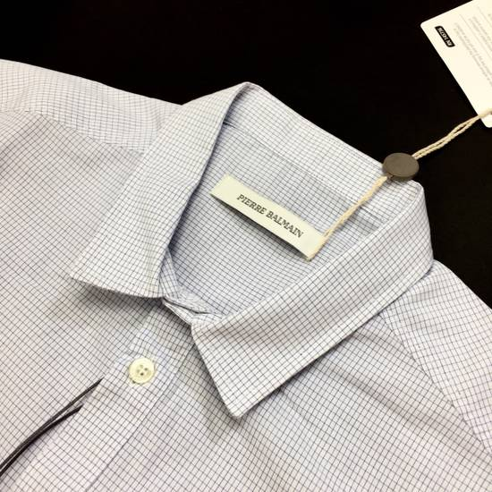 Balmain Micro Check Button Down Shirt NWT Size US S / EU 44-46 / 1 - 1