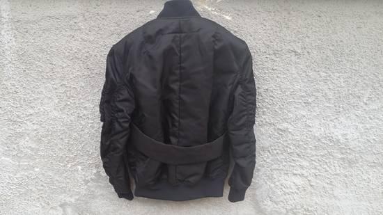Givenchy Givenchy Black Banded Rottweiler Nylon Shell Bomber Jacket 2014 size 48 (M) Size US M / EU 48-50 / 2 - 1