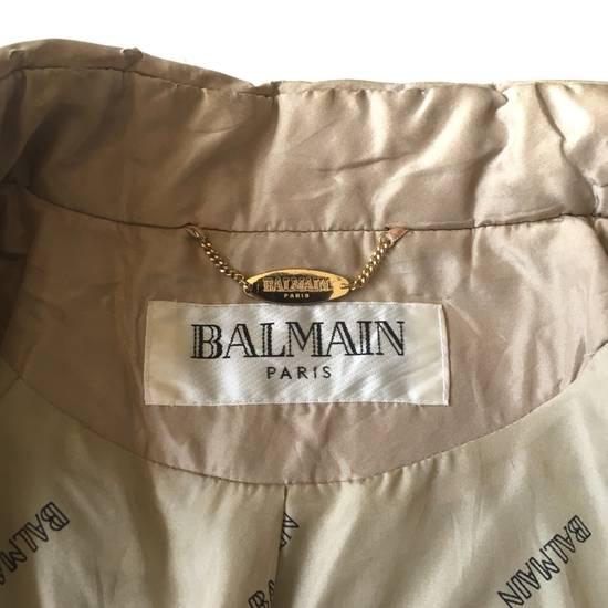 Balmain Final Drop! Balmain Quilted Silk Jacket Size US S / EU 44-46 / 1 - 6