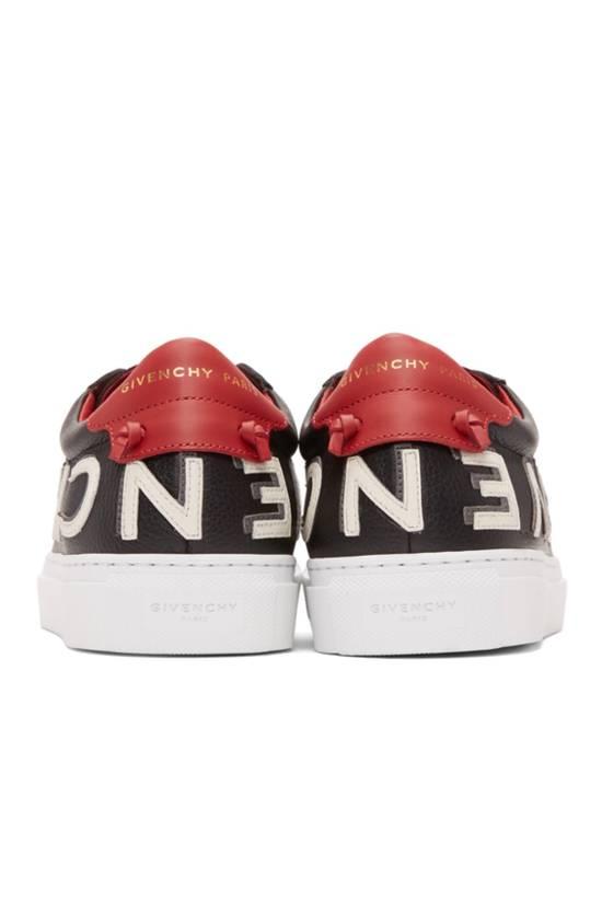 Givenchy Black Reverse Logo Urban Street Sneakers Size US 9 / EU 42 - 3
