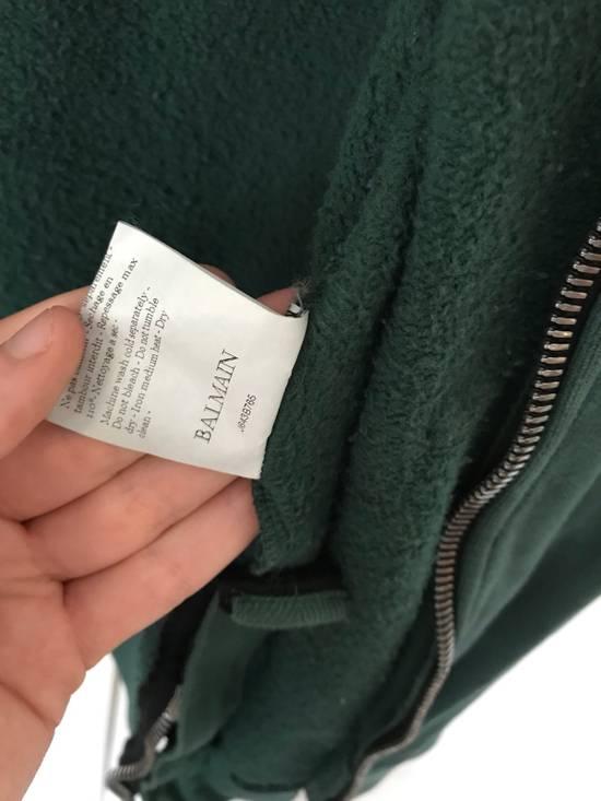 Balmain Embroidered Crest Side Zip Hoodie Size US L / EU 52-54 / 3 - 13