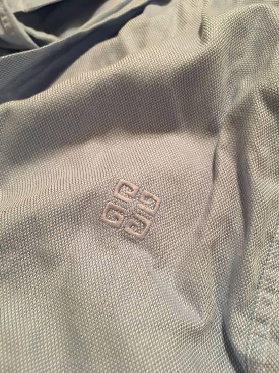 Givenchy Blue Oxford Spread Collar Dress Shirt Size US XS / EU 42 / 0