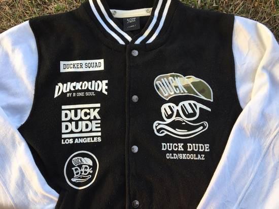 Japanese Brand DUCK DUDE Los Angeles Varsity Jacket by B One Soul NOT OFF WHITE, SUPREME, BAPE, MCM Size US L / EU 52-54 / 3 - 1