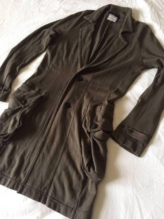 Julius Japan made long jersey oversize Popper fastening Gasmask pocket jacket Size US S / EU 44-46 / 1 - 10