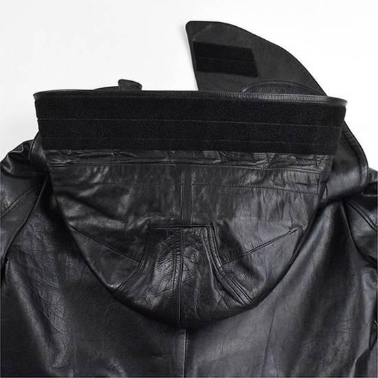 Givenchy AW10 oversized hood leather jacket Size US S / EU 44-46 / 1 - 6