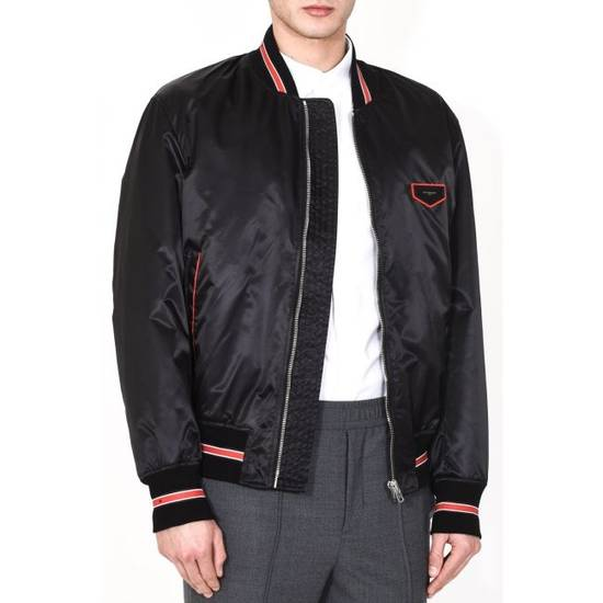 Givenchy CONTRASTED BANDS BOMBER JACKET Size US M / EU 48-50 / 2 - 2