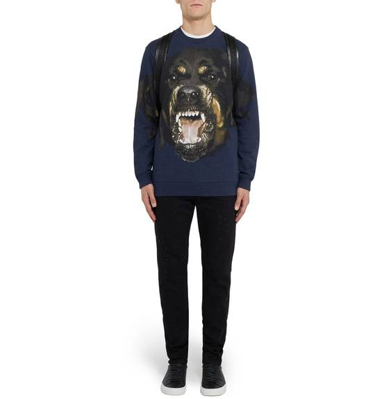 Givenchy Blue Rottweiler Sweater Size US S / EU 44-46 / 1 - 3