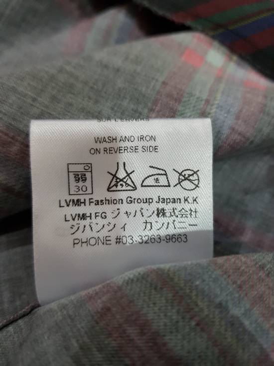 Givenchy Purple Plaid Shirt Size US M / EU 48-50 / 2 - 2