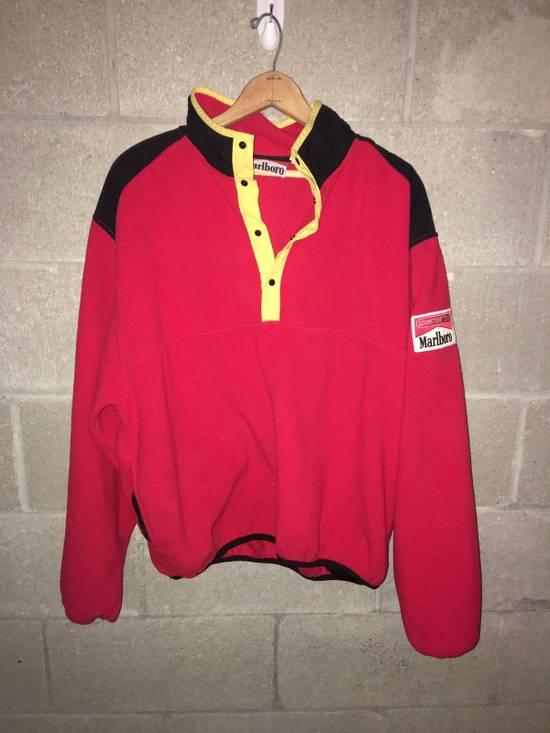 Marlboro VINTAGE Marlboro Adventure Team Fleece Sweater Size US L / EU 52-54 / 3