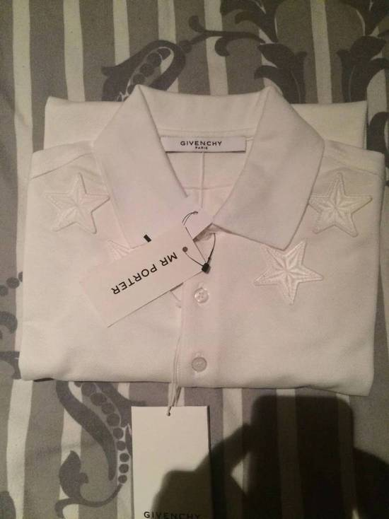 Givenchy Authentic Givenchy Cuban Fit Size S Star-Trimmed Cotton Polo Shirt Brand New Size US S / EU 44-46 / 1 - 1