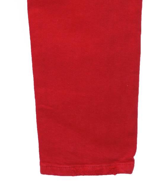 Balmain Original Balmain Distressed Red Men Biker Jeans in size 32 Size US 32 / EU 48 - 4