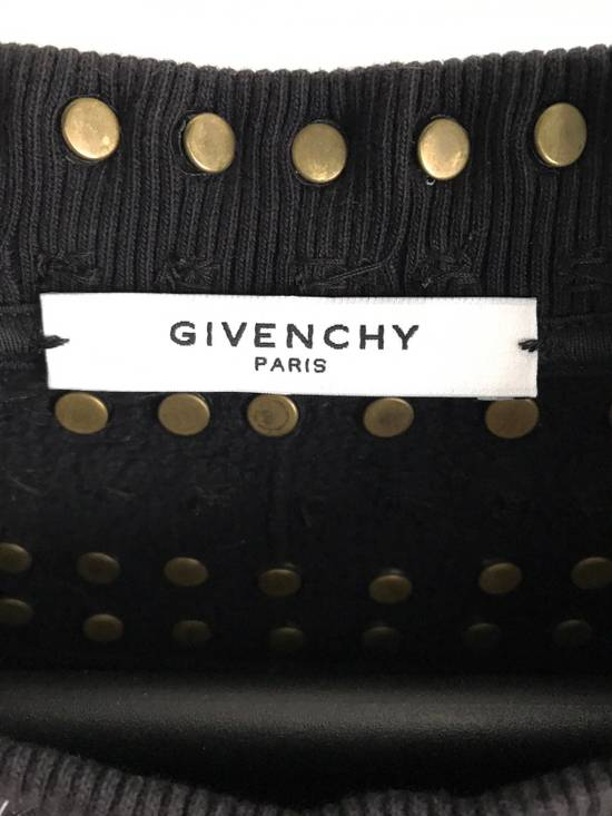 Givenchy 12FW Crystal and Metal Stars Sweatshirt Size US XS / EU 42 / 0 - 7