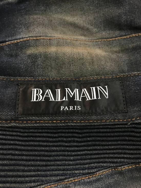 Balmain PRICED TO SELL!! Size 30 Blue Biker Jeans Balmain Size US 30 / EU 46 - 10