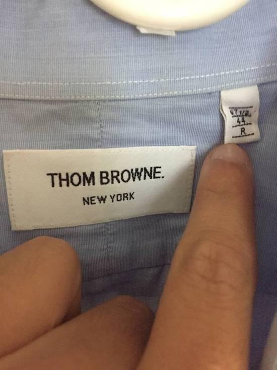 Thom Browne BLue Collar Shirt Size US XXL / EU 58 / 5 - 2