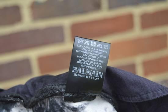 Balmain Black Tie Dye Shorts Size US 30 / EU 46 - 8