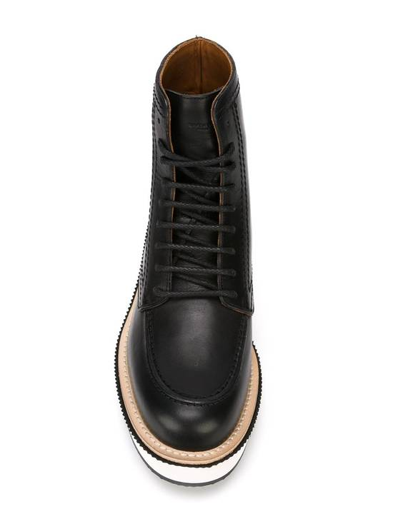 Givenchy Rottweiler Philippo Leather Ankle Boots Size US 7.5 / EU 40-41 - 2