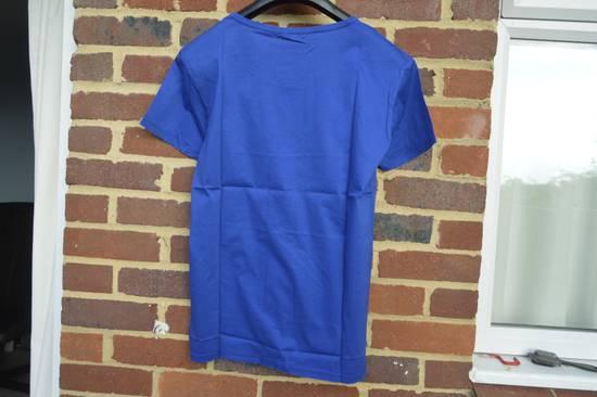 Balmain Blue Distressed T-shirt Size US M / EU 48-50 / 2 - 6