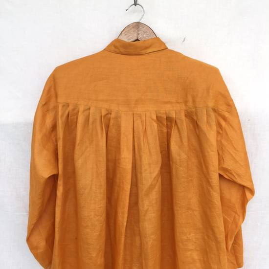 Givenchy Givenchy Dress Shirt Oversized Yellow 27x29:5 Size US XL / EU 56 / 4 - 4