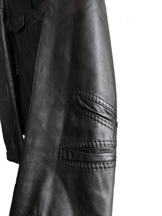 Dior AW05 Dior Homme 'L-Zip' Leather Motorcycle Biker Jacket Sz 50 Size US M / EU 48-50 / 2 - 2