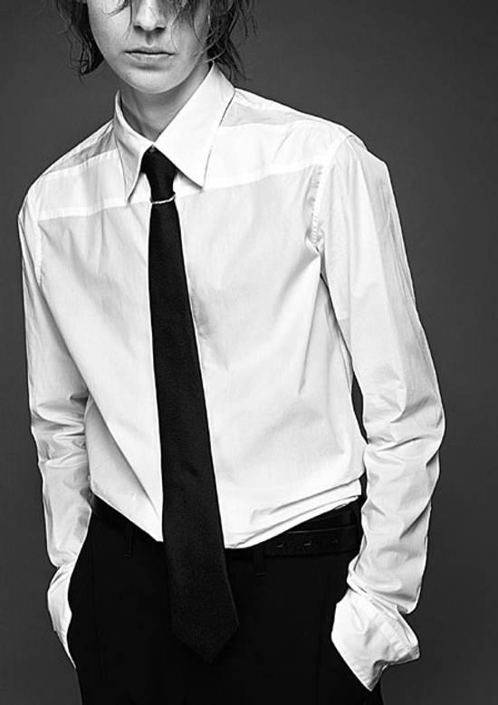 Julius Size 3 Formal Dress Shirt 2016 Pre Fall White Size US L / EU 52-54 / 3